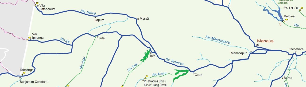 Hidrovia do Solimões / Amazonas