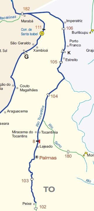 Hidrovia do Tocantins / Araguaia