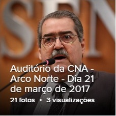 """<span  style=""""font-family:Arial, Helvetica, sans-serif;font-weight:Bold;font-size:20px;"""">Auditório da CNA - A Importância do Arco Norte na Competitividade da Exportação Agropecuária</span>"""